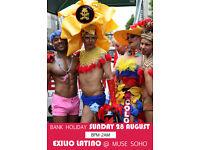 Sunday Bank Holiday LGBT Madness at Exilio