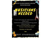 Musicians Wanted For Church Band - RCCG Overcomers House Bucks