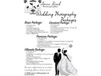 WEDDING AND SPECIAL EVENT PHOTOGRAPHY FROM £250 WITH GREAT PACKAGE!!!