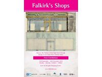 Falkirk's Shops: Free Exhibition