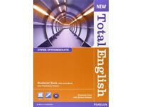 New Total English upper intermediate + workbook