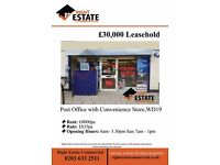 Convenience Store with Post office Local - Watford