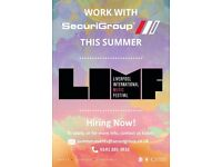 LIMF| SIA Licensed Staff Required
