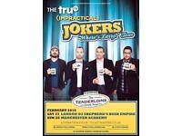 2 Impractical Jokers Tickets, Manchester, Block 203, Row F