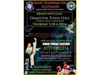 Taekwondo Class for Adults & Children (5+) - First Class FREE