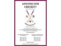 Players Wanted for Village Cricket Team based at the University