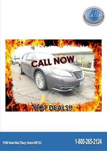 2014 Chrysler 200 Limited, Leather, Moonroof, One Owner!! Windsor Region Ontario image 1