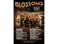 4x Blossoms standing tickets, Friday 30th September, Manchester Academy