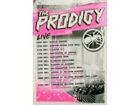 x3 standing tickets for The Prodigy @ Plymouth 16/12/17