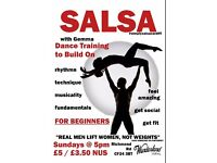 *FREEBIE ALERT* Salsa class for beginners. Free on 2 April 2017. Perfect opportunity to try it out