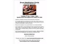 Drum Meditation Circle with Sarah Westwood on 9th May