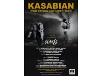 Kasabian tickets Saturday 25th of November @ The Hydro