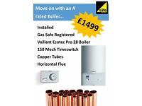 Vailliant Boiler - Installed and Gas Safe Registered *FREE OPTIONAL EXTRA*