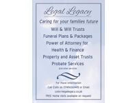 Free Wills (Simple), Power of Attorney, Funeral Plans & Free Stairlift Quotes! FREE HOME VISIT
