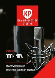 Vocal Recording Studio (Mix and Master)/ Filming / Media