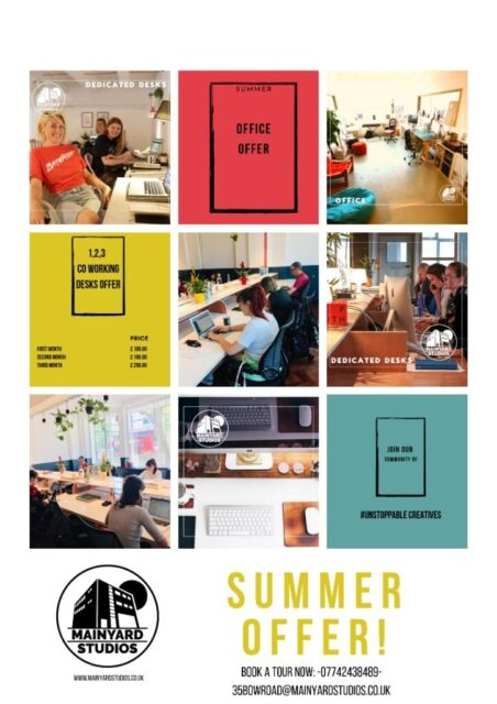 Looking for an affordable workspace? Searching for your tribe? Spaces are  going fast! Book a tour! | in Tower Hamlets, London | Gumtree