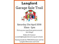 Langford Garage/Jumble Sale Trail