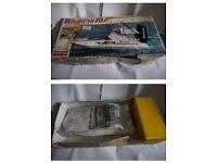 NEW Kyosho Windrush 10 Radio Control Air Boat kit. NEW Vintage Futaba Digital Radio Control FP-2PD