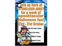 Stoneleigh Abbey Spooktacular Halloween Half Term