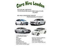 RENT - Pco car hire- Mercedes E class- Bmw 5 series- toyota prius- ford galaxy