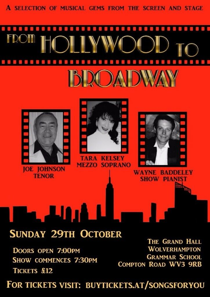 From Hollywood to Broadway! A musical celebration of musicals from the golden era of film and stage.