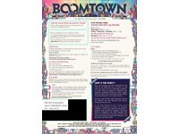 2x Weekend Tickets to Boomtown 2018 with Super Special Suitehut - Includes Beds & Toilet (Sleeps 2)