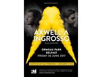 Axwell ^ Ingrosso ticket Belsonic 30th June