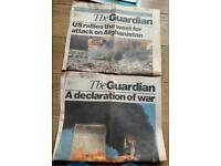 THE GUARDIAN SERIES OF ARTICLES ON 9/11 ATTACKS WITH COMMENTARY AND PICTURES