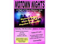 Classic Motown Night/Soul night