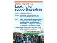 Extras needed for British Feature Film - NEXT WEEK & SEPTEMBER