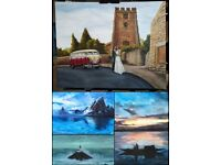 Traditional Portrait/Landscape paintings from a local artist