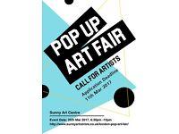Call for Artists - Central London Pop Up Art Fair