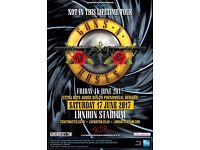 Guns N Roses - Friday 16th June - 2 unreserved Standing for £280!