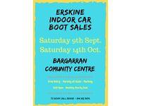 Erskine Indoor Car Boot Sale