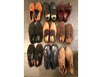 Selection (2) of men's shoes - size 9 (43)