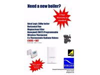 BRAND NEW 30KW BOILER BUNDLE, 5/10 YEAR WARRANTY - SUPPLIED & FITTED - FAST RESPONSE REPAIRS