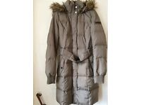 ESPRIT DOWN/FEATHER WINTER COAT SIZE 8/10