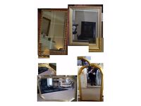 4 Lovely Mirrors in Excellent Condition