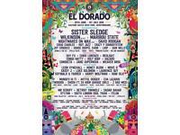 El Dorado Festival Tickets x2