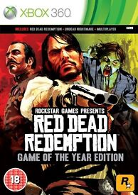 Red Dead Redemption (Game of The Year Edition) (Mint Condition) For Xbox 360/Xbox One