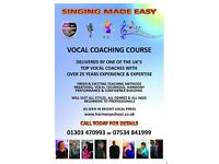 Vocal lessons Folkestone area