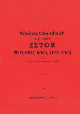 Reparatur Zetor 5011 6011 6045 7011 7045 4911 5911 5945 6911 6945 Werkstatt na sprzedaż  Wysyłka do Poland