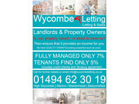 Landlords & Homeowner: We require properties in High Wycombe