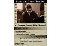 Piano and Music Lessons - East End and City Centre