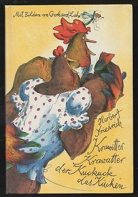 Krawitter Krawatter der Kuckuck das Kücken – Herbert Friedrich Gerhard Lahr  DDR