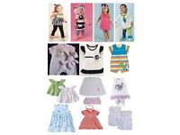 Job Lot of NEW Baby Clothing/Girls Clothing, hair accessories etc great for Market Stall/Shop/Ebay