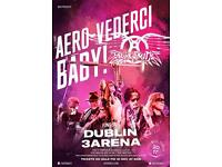 2 AEROSMITH STANDING tickets 14th June Dublin 3 Arena 175£