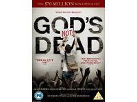 DVD - God's Not Dead - Kevin Sorbo, Shane Harper, David A R White & Dean Cain