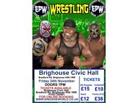 WRESTLING TICKETS