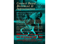 Contact Based Movement & Improvisation - Classes & Workshops for dancers and non-dancers
